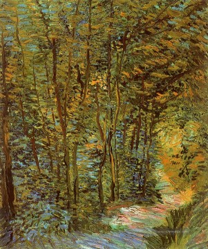 Vincent Van Gogh Werke - Path in the Woods Vincent van Gogh