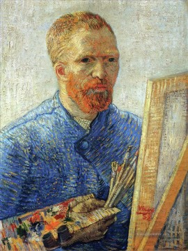 Vincent Van Gogh Werke - Self Porträt as an Artist Vincent van Gogh