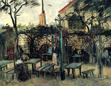 Vincent Van Gogh Werke - Terrace of a Cafe on Montmartre La Guinguette Vincent van Gogh