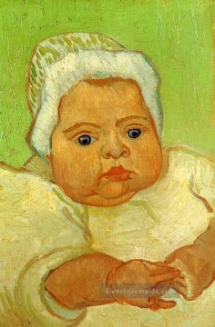 The Baby Marcelle Roulin Vincent van Gogh Ölgemälde