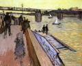 The Bridge at Trinquetaille Vincent van Gogh