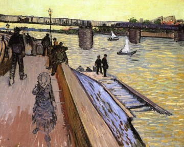 Vincent Van Gogh Werke - The Bridge at Trinquetaille Vincent van Gogh