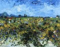 The Green Vinyard Vincent van Gogh