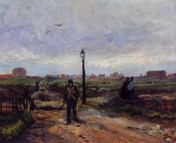 Vincent Van Gogh Werke - The Outskirts of Paris Vincent van Gogh