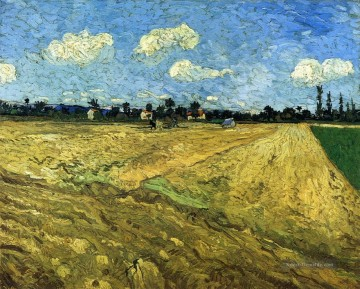 The Ploughed Field Vincent van Gogh Ölgemälde