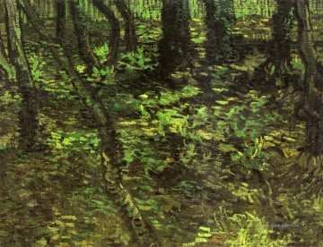 Undergrowth with Ivy Vincent van Gogh Ölgemälde