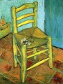 Van Gogh s Chair Vincent van Gogh