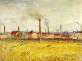 Factories at Asnieres Seen from the Quai de Clichy Vincent van Gogh