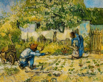 Vincent Van Gogh Werke - First Steps after Millet Vincent van Gogh