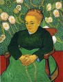 Madame Roulin Rocking die Cradle Vincent van Gogh