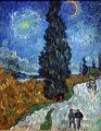 Road with Cypresses 3 Vincent van Gogh