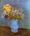 Vase with Lilacs Daisies and Anemones Vincent van Gogh