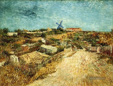Vincent Van Gogh Werke - Vegetable Gardens in Montmartre 3 Vincent van Gogh
