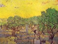 Olive Grove mit den Figuren Vincent van Gogh Picking