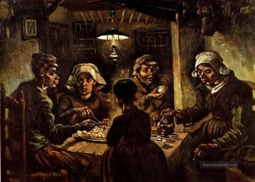 Vincent Van Gogh Werke - The Potato Eaters Vincent van Gogh
