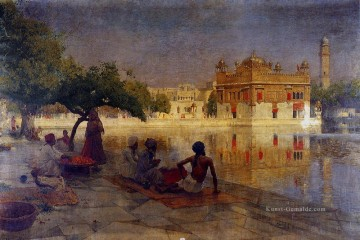 Edwin Lord Weeks Werke - The Golden Temple Amritsar Persisch Ägypter indisch Edwin Lord Weeks