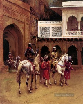 Edwin Lord Weeks Werke - Indian Prince Palace Of Agra Persisch Ägypter indisch Edwin Lord Weeks