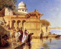 Along The Ghats Mathura Persisch Ägypter indisch Edwin Lord Weeks