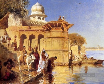 Edwin Lord Weeks Werke - Along The Ghats Mathura Persisch Ägypter indisch Edwin Lord Weeks
