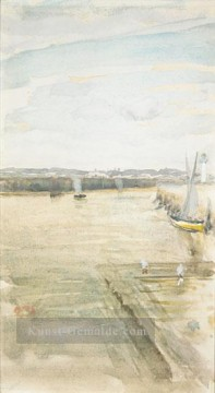 James Ölgemälde - James Abbott McNeill Szene auf dem Mersey James Abbott McNeill Whistler