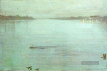 Nocturne Blue and Silver James Abbott McNeill Whistler