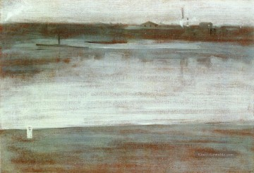 Morgen Künstler - Symphony in Gray Early Morning Thames James Abbott McNeill Whistler