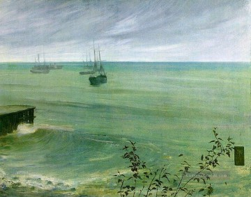 Symphony in Grey and Green The Ocean James Abbott McNeill Whistler