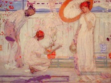 James Ölgemälde - The White Symphony Drei Mädchen James Abbott McNeill Whistler