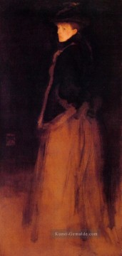 James Ölgemälde - Arrangement in Schwarz und Braun James Abbott McNeill Whistler