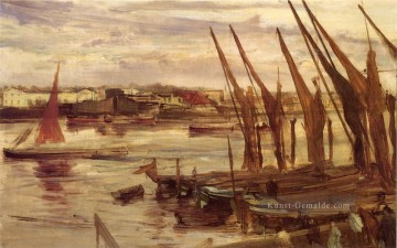 Battersea Reach James Abbott McNeill Whistler Ölgemälde