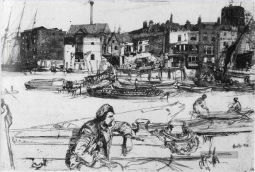lion Galerie - Black Lion Wharf James Abbott McNeill Whistler