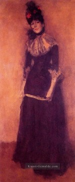 James Ölgemälde - Rose et argent La Jolie Mutine James Abbott McNeill Whistler