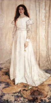mädchen - Symphony in White No1The White Mädchen James Abbott McNeill Whistler