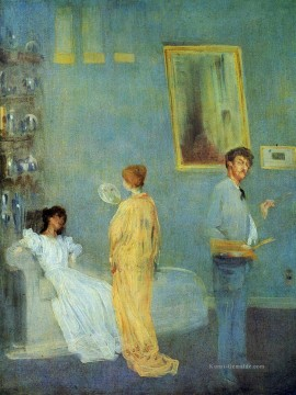The Artists Studio James Abbott McNeill Whistler Ölgemälde