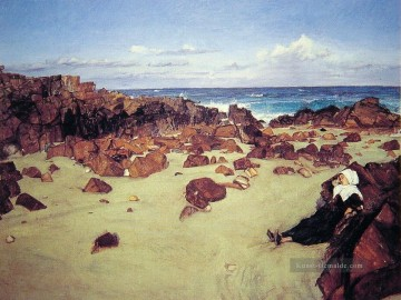 James Ölgemälde - Die Küste der Bretagne James Abbott McNeill Whistler