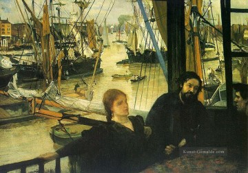 Thames Künstler - Wapping on Thames James Abbott McNeill Whistler