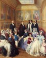Queen Victoria and Prince Albert with the Family of King Louis Philippe Franz Xaver Winterhalter