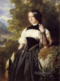 A Swiss Girl from Interlaken Königtum Porträt Franz Xaver Winterhalter