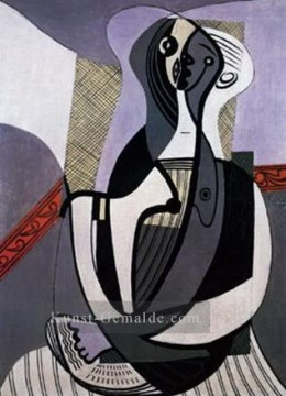 1927 Galerie - Femme assise 2 1927 Kubismus
