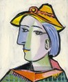 Marie Therese Walter au chapeau 1936 Kubismus