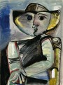 Personnage Femme assise 1971 kubistisch
