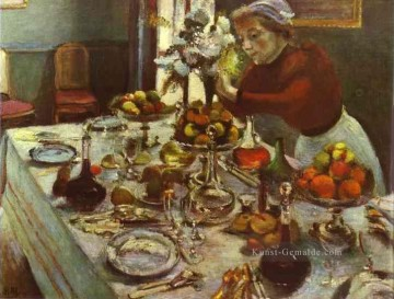 Dinner Table 1897 Fauvismus Ölgemälde