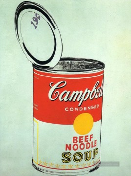 Pop Werke - Big Campbell s Soup Can 19c Beef Noodle POP