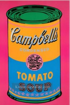 Pop Werke - Campbell Soup Can Tomato POP Künstler
