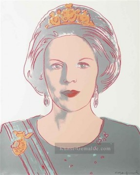 Pop Werke - Queen Beatrix of the Netherlands from Reigning Queens POP Künstler