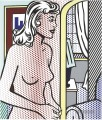Nude in Apartment POP Künstler