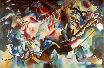 Reine Abstraktion Werke - Komposition VI Wassily Kandinsky abstrakt