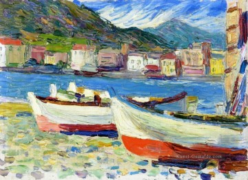 Reine Abstraktion Werke - Rapallo Boote abstrakt