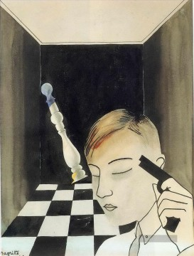 Surrealismus Werke - checkmate 1926 Surrealist