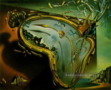 Surrealismus Werke - Melting Watch Surrealist